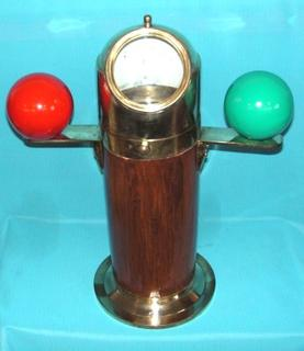 Brass Binnacle Compass (500mm High)