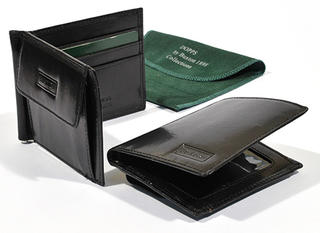 Buxton Leather Wallet Black