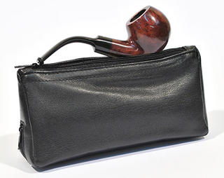 Pipe and Tobacco Leather Pouch (200mm Long X 100mm High)