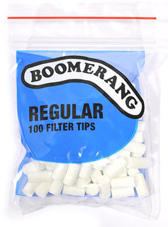 Filter Tips Boomerang Regular (Blue)