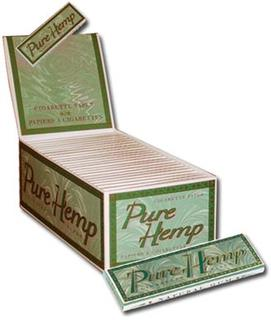 Pure Hemp Rolling Papers Regular Carton