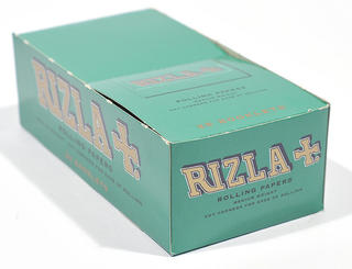 Rizla Regular Green Double Rolling Papers Carton