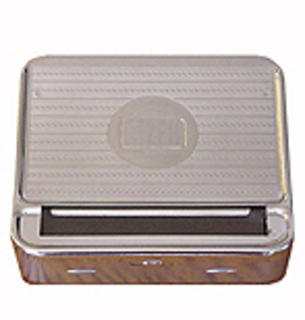 Gizeh Silver Tip Cigarette Rolling Tin 70mm Regular