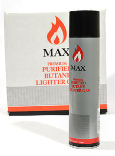 Max Gas Butane 280ml Refill Can (6 Loose Cans)