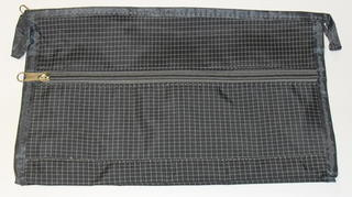 Basic Toilet Bag Grey Check