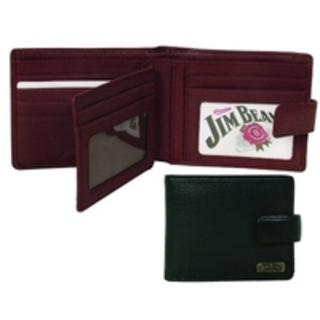 Jim Beam Wallet with ID Window and Credit Card Slots