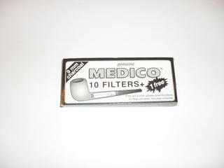Medico 9mm Pipe Filters