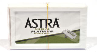 Astra Double Edge Platinum Blades Refill Pack of 5