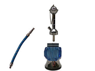 Shisha Pipe 1 Hose with Light and no Aluminium Case