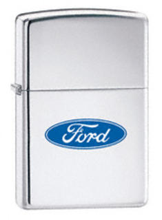 Zippo Ford Chrome High Polish