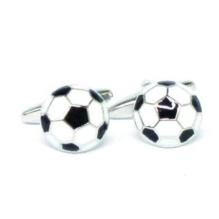 Cuff Links Soccer Ball