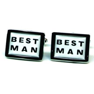 Cuff Links Best Man