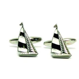 Cuff Links Yacht