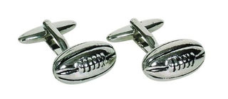 Cufflinks Rugby Ball