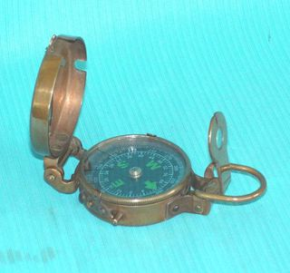 Antique Military Compass 50mm