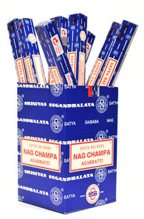 Satya Sai Baba Nag Champa Incense 10gm Carton