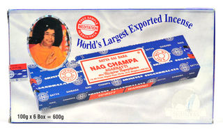 Satya Sai Baba Nag Champa Incense 100gm Carton
