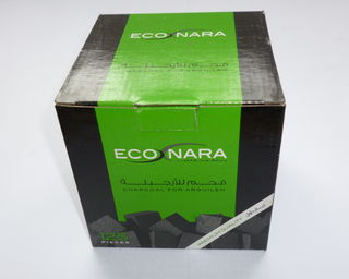 Econara Charcoal Pack (125 Pieces - Cubes) Premium Quality