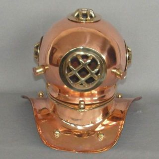 Brass n Copper Divers Helmet (200mm High)