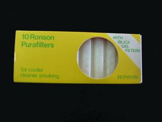 Ronson 9mm Silicon Purafilters (10 pack)