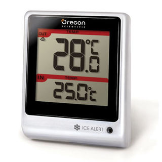 Weather Station In/Out Temp. Remote Thermometer EMR201 from Oregon Scientific