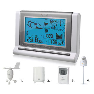 Weather Station Wireless Pro and USB Uploader WMR88 from Oregon Scientific