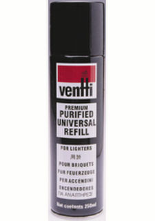 Ventti Gas Butane 300ml Refill Cans (2 X Cartons of 6 Cans)