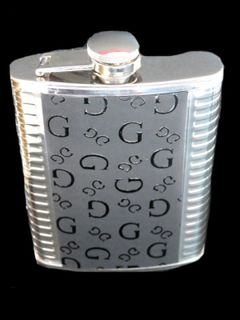Hip Flask Chrome with