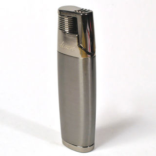 Gas Lighter Honest Brand Single Jet - Satin Gunmetal