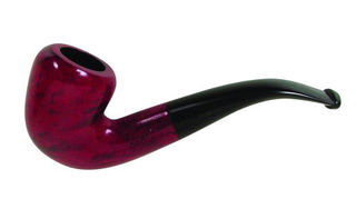 Falcon Coolway # 20 Red Fancy Bowl - Bent Stem