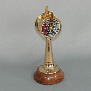 Brass Ship's Telegraph (180mm High)