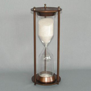 Brass and Glass Timer (15 Minutes)