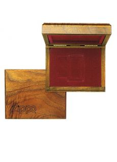 Zippo Wooden Gift Box with Logo
