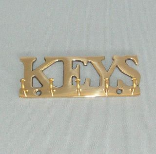 Key Rack Brass