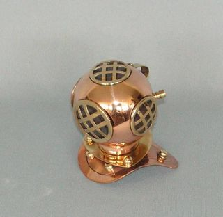 Brass n Copper Divers Helmet (100mm High)