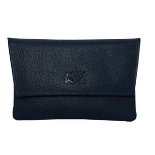 Tobacco Pouch Aztec 30gm Navy Blue Leather