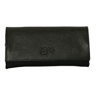 Tobacco Pouch Aztec 50gm Black Leather
