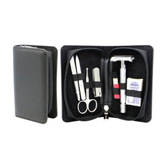 Comoy 7-Piece Shave and Manicure Set Chrome