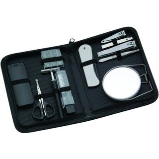 Comoy 13-Piece Grooming Set Black