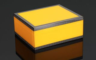 Cigar Humidor - Cohiba Checker Series - 50 Stick - Horizontal  Check