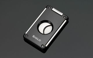 Siglo Cigar Cutter - Switch Blade Cutter - Shiny Black