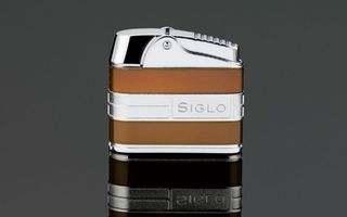 Siglo Retro II Lighter - Metallic Bronze