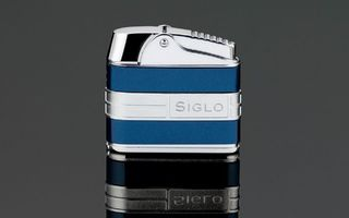 Siglo Retro II Lighter - Metallic Blue