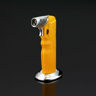 Siglo Oval Table Torch Lighter - Cohiba Yellow