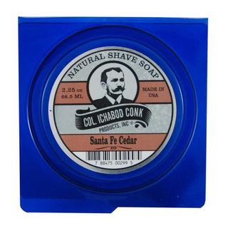 Col Conk Natural Shave Soap - Santa Fe Cedar - 160 ml