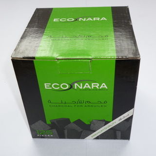 Econara Charcoal Pack (125 Pieces - Cubes) Premium Quality (5 X Packs of 125)