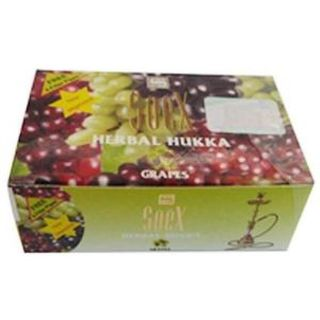 SoeX Herbal Shisha Grapes Flavour 50gm
