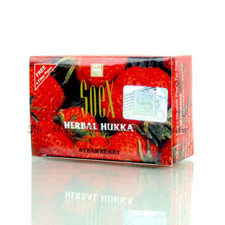 SoeX Herbal Shisha Strawberry Flavour 50gm