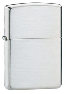 Zippo Sterling Silver Brushed Finish
