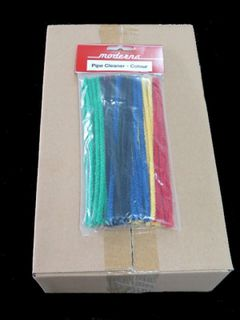 Moderna Pipe Cleaners Smooth Coloured (24 Pack Carton)